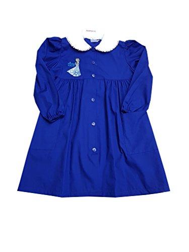 Frozen grembiule blu scuola elementare disney per bambina (art u952012) (70-7 anni)