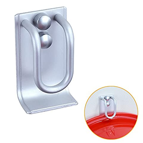 2in 1Waschbecken Aufhänger Halter Badezimmer Küche Haken Platz Aluminium Badewanne Eitelkeiten Haken Clip Wand montiert Bad Waschbecken (Pad Riser Kit)