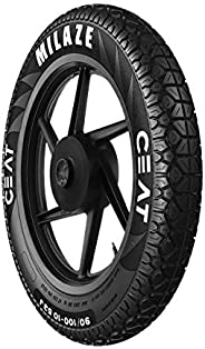 Ceat Milaze 80/100 -18 54P Tubeless Bike Tyre, Rear (103065)