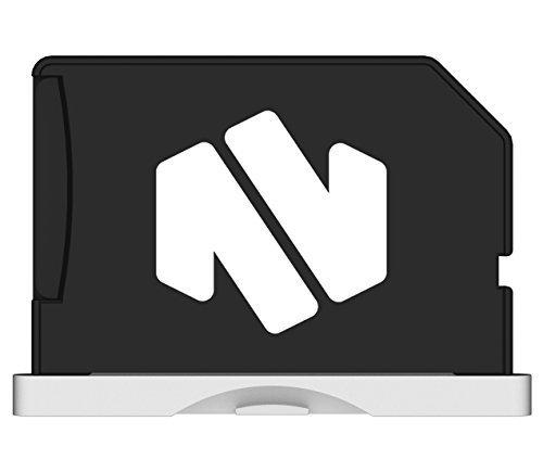 Nifty MiniDrive Retina 38,1cm Silber–bis zu 200GB Speichererweiterung für Macbook Pro 38,1cm mit Retina Display (Ende 2013Modell ab)