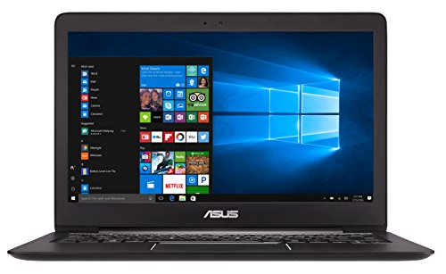 Asus Zenbook UX330UA-FC080T 33,7 cm (13,3 Zoll mattes FHD) Notebook (Intel Core i7-7500U, 16GB RAM, 512GB SSD, Intel HD Graphics, Win 10) schwarz