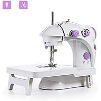Mini máquina de coser JXJH con mesa de extensión Máquina de remodelación de artesanía ajustable portátil