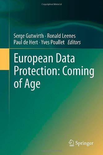 European Data Protection: Coming of Age (2012-11-22)