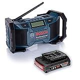 Bosch Baustellenradio GML SoundBoxx 14,4 + 18V Radio + 1x Akku 18V GBA 2,0 Ah