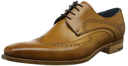 Barker Pitt, Zapatos de Cordones Derby Para Hombre Barker