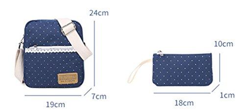 Alidier Neue Marke und Qualität Mode Maedchen Rucksack Schulranzen Pink
