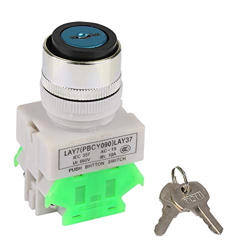 Interruttore a chiave con interruttore a chiave a chiave a 3 posizioni 220 V con chiave a 2 vie LAY37-20Y / 31