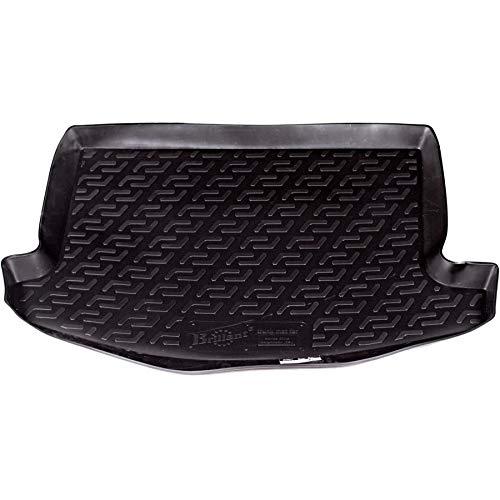 SIXTOL - Protezione del Bagagliaio per l'Automobile Honda Civic VIII Hatchback - Vasca Anti-Scivolo e su Misura progettata per Il Trasporto Sicuro di Spesa,Bagagli e Animali Domestici