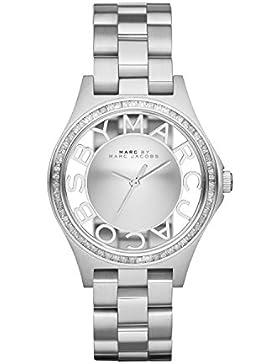 Marc Jacobs Damen-Armbanduhr XS Analog Quarz Edelstahl MBM3337