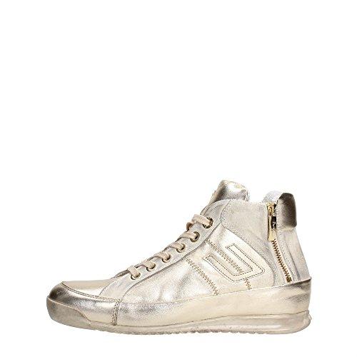 4US CESARE PACIOTTI NNGD6LM Sneakers Donna Pelle Oro Oro 37