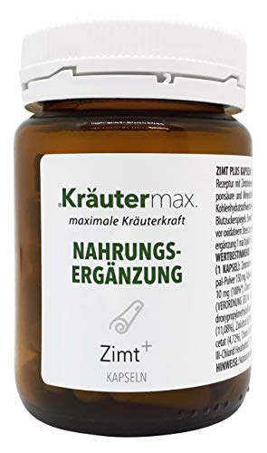 Zimt-Kapseln-Vegan 1 x 60 Stk. - Zimt-Blutzucker - Zimt-Komplex