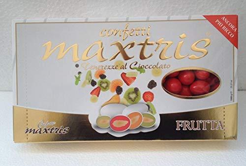 Maxtris | confetti italiani di mandorla | mix frutta rosso | 1 kg.