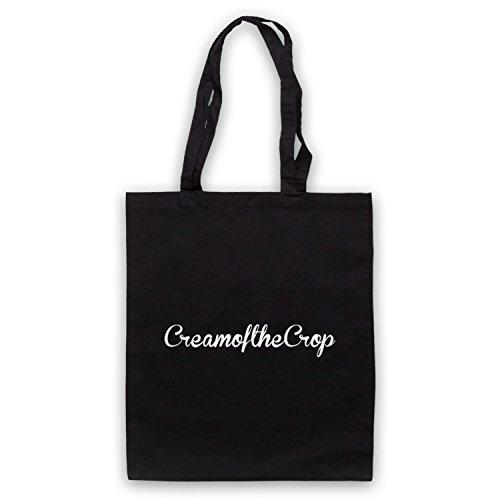 Cream Of The Crop Slogan Umhangetaschen Schwarz