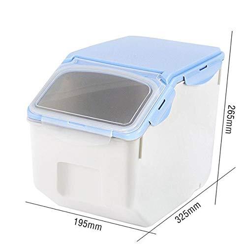DGJEL Caja de Comida para Perros, Tanque de Almacenamiento Sellado para Comida para Gatos, Tanque de Comida para Perros, Tanque de Almacenamiento a Prueba de Humedad para Mascotas