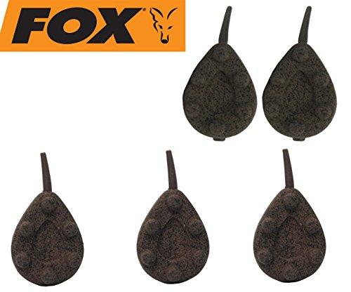 Fox Bleie Kling on inline Leads Karpfenbleie Blei Inlinebleie, Karpfenangeln, Karpfensee, Karpfenmontage, Gewicht:225g