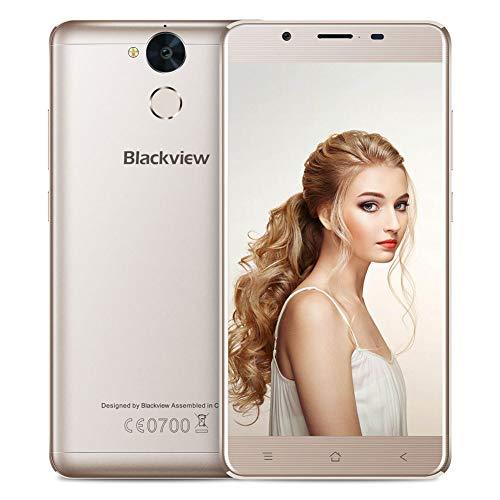 Blackview Smartphone Libre, P2 Lite Moviles Libres 4G con 6000mAh Big Battery 3GB RAM + 32GB ROM Cámara Trasera 13MP, Mobile Phone 5.5 '' FHD Android 7.0 y función OTG