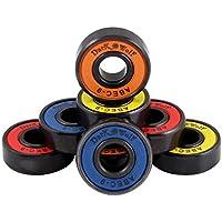 UGIN Cuscinetti a sfera ABEC 11 ABEC-9, 8x608 di alta di alta in acciaio cuscinetti a sfere cromato, ceramica anti-espansione alla corrosione ruggine antipolvere per skate / skateboard