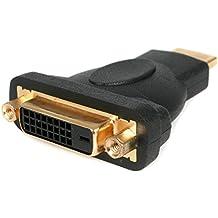 StarTech.com HDMIDVIMF - Adaptador HDMI a DVI (DVI-D hembra, HDMI macho) negro
