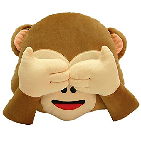 Rainbow Fox Cute Christmas Star Cushion Jouets en peluche de Noël avec des boules de Noël pour la maison / arbre de Noël /