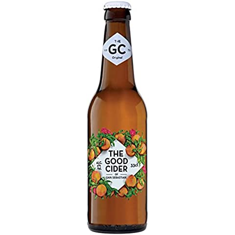THE GOOD CIDER OF SAN SEBASTIAN PEACH 33CL - Caja con 24 botellas