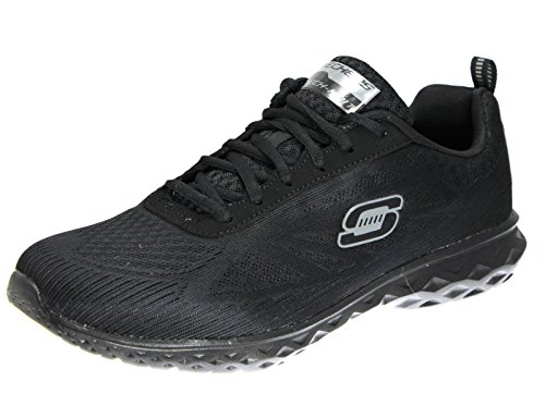 Skechers Synergy Power Switch, Sneakers Uomo, Nero (BKW), 43 EU