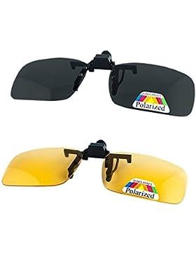 2 pares de gafas de sol unisex C