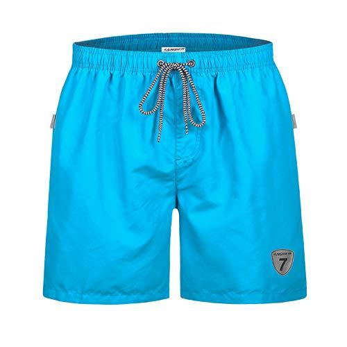 anqier Badehose für Herren Jungen Badeshorts für Männer Schnelltrocknend Surfen Strandhose Schwimmhose Strand Shorts mit Mash-Innenfutter