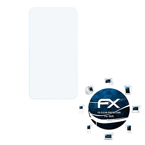 atFolix Schutzfolie kompatibel mit Shift 6mq Folie, ultraklare FX Bildschirmschutzfolie (3X)