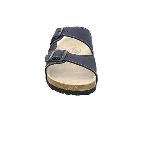 Mulas Chinelos Alemanha Em Prático Sapatos mulas Desportivos Afs Feito Marinha Trabalho Ajustáveis Couro bio De 3110 Homens Dos Qualidade De Genuíno Alta Sapatos Confortáveis 1EUUwqBzSn