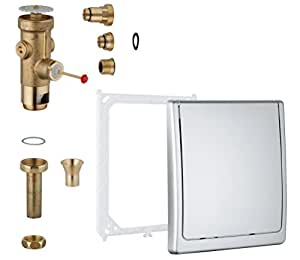 grohe robinet de chasse d 39 eau dn20 42901000 import allemagne bricolage. Black Bedroom Furniture Sets. Home Design Ideas