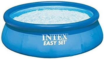 "Intex 28110E Easy Set Inflatable Swimming Pool, Blue  (8 x 30"")"