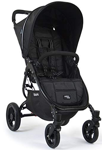 Valco Baby Snap4 Single Stroller (Black Beauty)