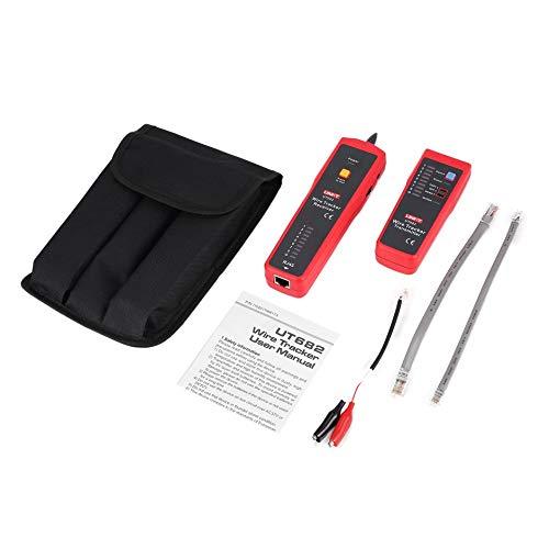 Preisvergleich Produktbild WEIWEITOE-DE Uni-T UT682 Wire Tester Tracker RJ11 RJ45 Wire Line Finder LAN Tester Handheld Cable Testing Tool for Network Maintenance