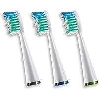 Waterpik SRRB-3E cepillo de dientes - Cabezal (Verde, Azul, Color blanco