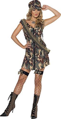 Smiffys Armee Girl Kostüm
