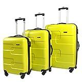 Vesgantti 3 Piece Suitcase Luggage Set with TSA Lock - Anti-Scratch Lightweight 4