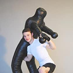 ungef/üllt ROX Fit Kampf-Dummy 1,80/m realistische Unterwerfungspose Brasilianisches Jiujitsu-Training Tasche
