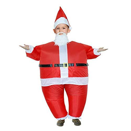 Aufblasbare Weihnachtsmann Anzug - Reuvv Weihnachtsmann Aufblasbar Kostüm Lustig Aufblasen