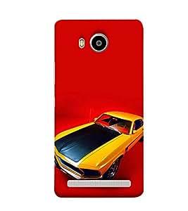 Print Masti Designer Back Case Cover for Lenovo A7700 (Speed Fast Decorative Modern)