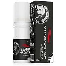 Beard Growth Spray – Neue Formulation - Fördert den Bartwuchs - Für kräftigeren, volleren Bart!