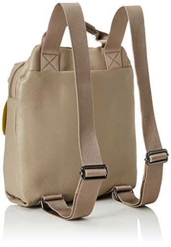 Mandarina Duck - Mellow Leather Tracolla, Zaino Donna Grau (SIMPLY TAUPE)