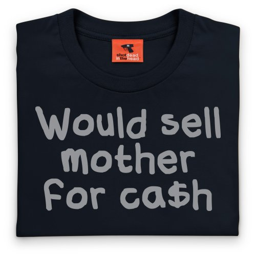 Square Mile Mother T-Shirt, Herren Schwarz