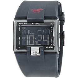 Mustang Men's Quartz Watch 106974604402 with Plastic Strap
