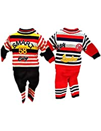 a479b0c881bb socho samjo Boy s and Girl s Woolen Dress Sweater and Pajama (6 Month to 1  Years
