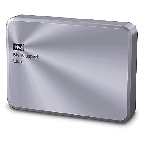 Western Digital WDBEZW0040BSL-EESN Externe Festplatte (4TB) silber