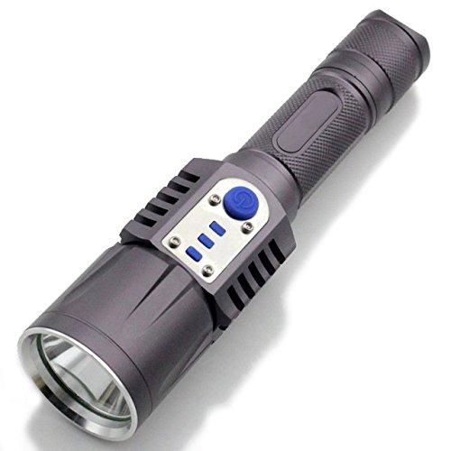 2000 LUMENES CARGADOR USB DEL CREE XM-L2 LED LINTERNA ANTORCHA 5 MODS ENERGIA MOVIL 18650 BATERIA DE LINTERNA INTELIGENTE