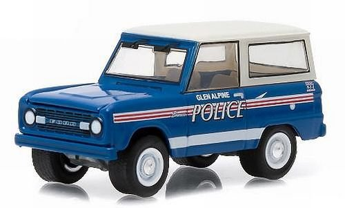 Greenlight 1:64 Hot Pursuit Series 16 1967 Ford Bronco Glen Alpine North Carolina Police by Greenlight