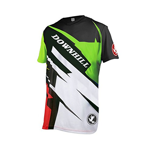 Uglyfrog 2018 Herren Mountainbike Downhill Freeride BMX Trikot Shirt Motocross Kurze Ärmel MTB/Downhill Cycling Jersey -