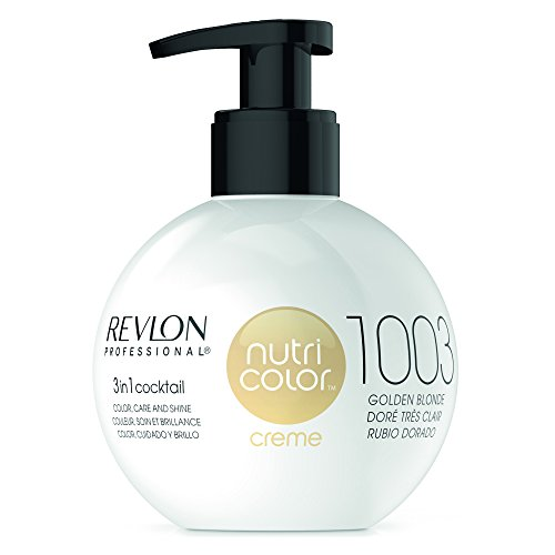 Golden Blonde (REVLON PROFESSIONAL Nutri Color Creme ,Nr. 1003 Golden Blonde, 1er Pack (1 x 270 ml))