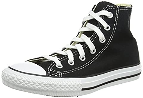 Converse Chuck Taylor All Star, Unisex-Kinder Hohe Sneakers, Schwarz (Black), 27 EU